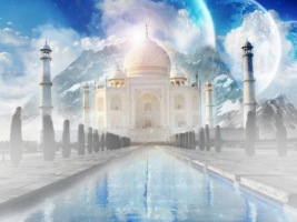 The Taj Mahal Wallpaper India World