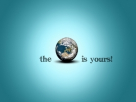 The World Is Yours Wallpaper Photo Manipulated Nature