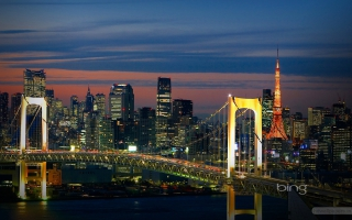 Tokyo Bridge Japan