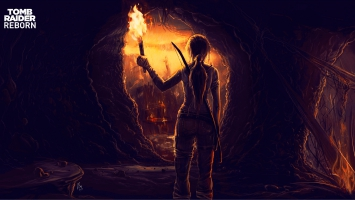 Tomb Raider Fan Art 4K 5K