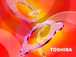 Toshiba Intense Colors Wallpaper Toshiba Computers