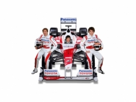 Toyota Racing team Wallpaper Formula 1 Cars