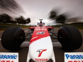 Toyota TF109 F1 car Wallpaper Formula 1 Cars