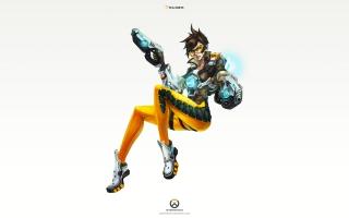 Tracer Overwatch Art 4K