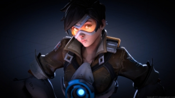 Tracer Overwatch Fan Art 4K