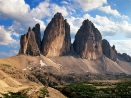 Tre Cime di Lavaredo Wallpaper Italy World