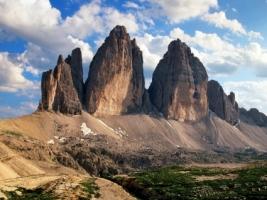 Tre Cime di Lavaredo Wallpaper Italy World