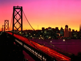 Treasure Island View Bay Bridge San Francisco