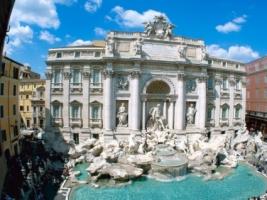 Trevi Fountain Wallpaper Italy World