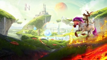Trials Fusion Unicorn Cat