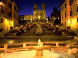 Trinita dei Monti Church Italy