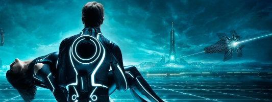 Tron Legacy Tripple Monitor