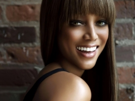 Tyra Banks Smile Wallpaper Tyra Banks Female celebrities