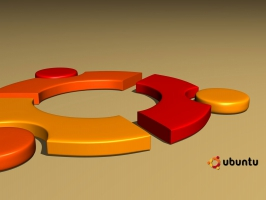 ubuntu 3D Logo