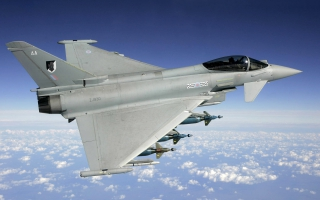 UK  Air Force Typhoon ZJ930