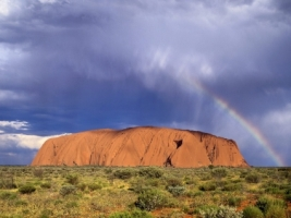 Uluru Kata Tjuta National Park Wallpaper Australia World
