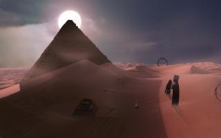 Unseen Desert Night