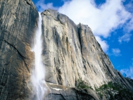 Upper Yosemite Falls Wallpaper Waterfalls Nature