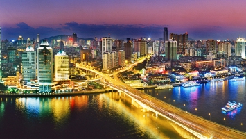 Urban NightLife Guangzhou China