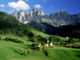 Val di Funes Wallpaper Italy World