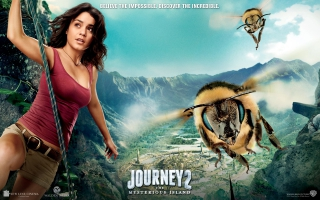 Vanessa Hudgens in Journey Mysterious Island