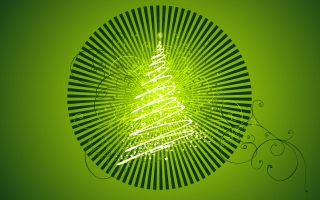 Vector Chirstmas Tree Design