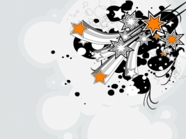 Vector Fireworks Wallpaper Abstract 3D