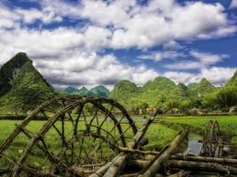 Vietnam village Wallpaper Vietnam World