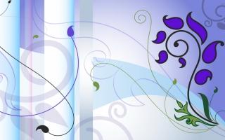 Violet Paint Vector
