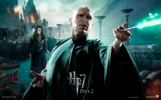 Voldemort in HP7 Part 2