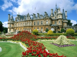Waddesdon Manor Wallpaper England World