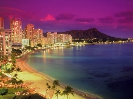 Waikiki beach Wallpaper United States World