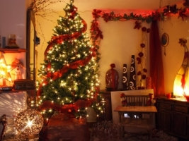 Warm Christmas Wallpaper Christmas Holidays
