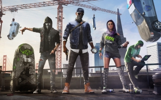 Watch Dogs 2 Marcus Sitara Wrench 8K