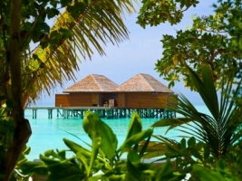 Water Bungalows Wallpaper Other Nature