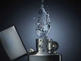 Water lighter Wallpaper Abstract 3D