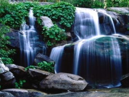 Whiskey Falls Wallpaper Waterfalls Nature