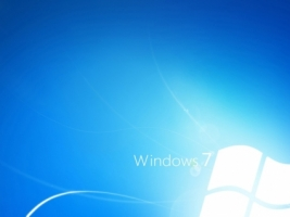 Windows 7 Light Blue Wallpaper Windows Seven Computers