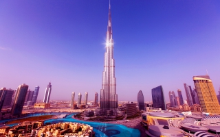 World's Tallest Tower Burj Khalifa