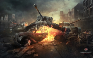 World of Tanks Online Game