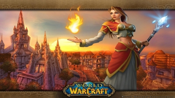 World of Warcraft Girl
