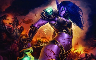 World of Warcraft Lady