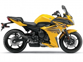 Yamaha FZ6R Yellow