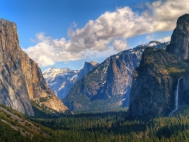 Yosemite Valley Wallpaper Landscape Nature