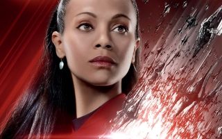 Zoe Saldana Star Trek Beyond