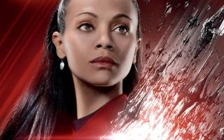 Zoe Saldana Star Trek Beyond